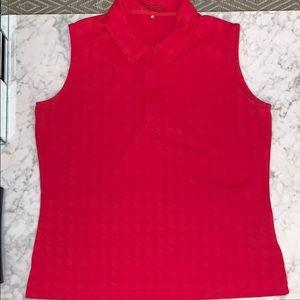 Nike Dri-Fit Sleeveless Golf Shirt